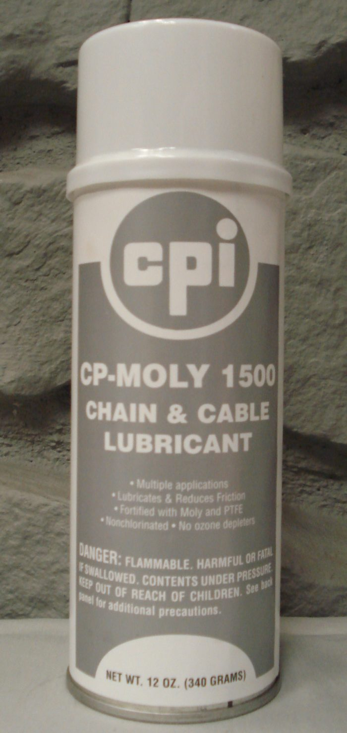 CP-Moly 1500 Chain&Cable Lubricant, Automotive&Fleet, CPI