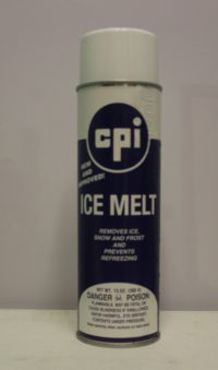 Ice melt Aerosol, Automotive&Fleet, RSI, CPI