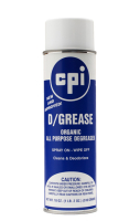 D-Grease Organic Citrus Degreaser, Industrial Degreaser, CPI