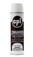 Cinnamon Aerosol Dry Air Fabric Deodorizer, Carpet Care, CPI