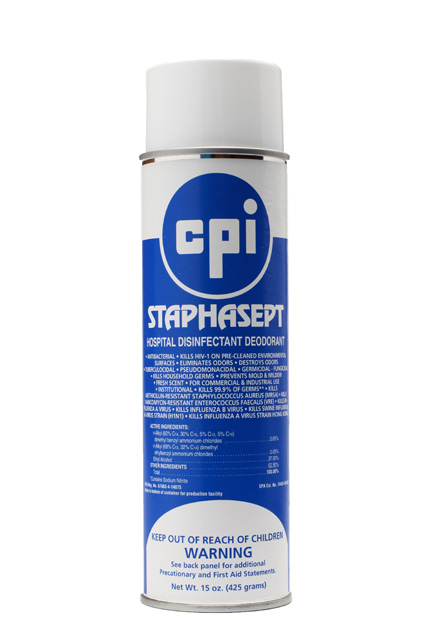 Staphasept Hospital Disinfectant Deodorant, Disinfectant, Odor Control, Bathroom Clare