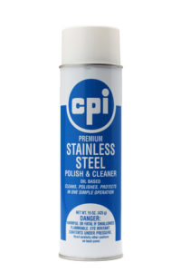 Premium Stainless Steel Cleaner Polish, Food Service Cleaning, CPI
