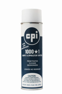 1000 1 Carpet Upholstery Spotter, Carpet Care, CPI