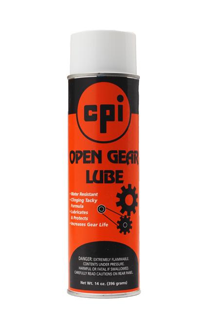 Open Gear Lubricant, Automotive & Fleet, CPI