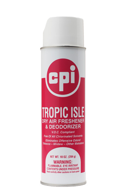 Tropic Isle Air Freshener, Odor Control, CPI