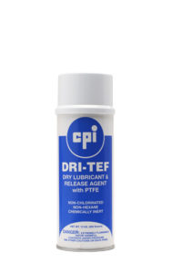 Dry-Tef Aerosol Spray Lubricant, Automotive&Fleet, CPI