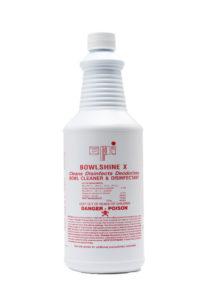 Bowlshine X Germicidal Bowl Porcelain Cleaner, Bathroom Care, Disinfectant, CPI