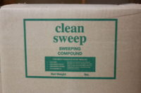 Sweeping Compound, Hard Floor Cleaner, CPI