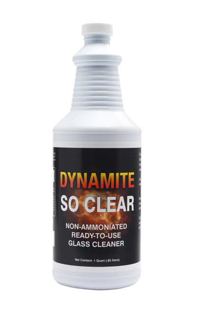 DYNAMITE So Clear Glass Cleaner, General Purpose & Specialty Surface Cleaners, CPI