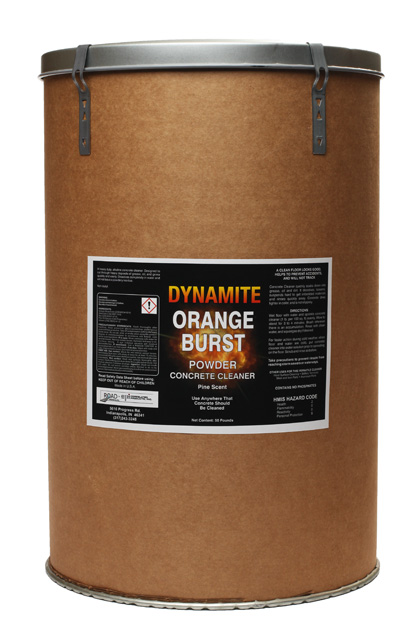 Dynamite orange burst concrete cleaner cpi for Cement cleaning solution