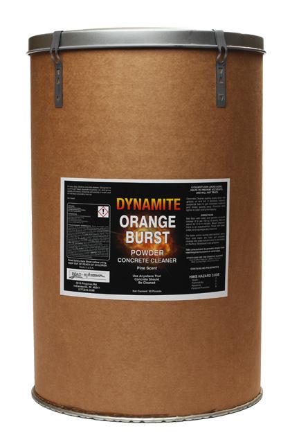 Dynamite Orange Burst Concrete Cleaner Cpi