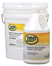 ZEP Auto Floor Scrubber Solution Concentrate, Hard Floor Care, CPI