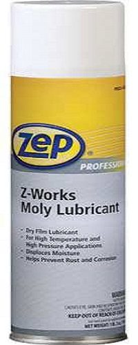 ZEP Z-Works Dry Moly Lubricant, Metal Working, CPI